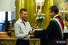 Balczó Balázs harmonikás elismerés