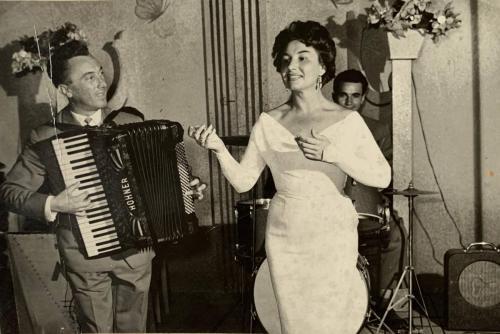 Caterina Valentével EMKE 1949