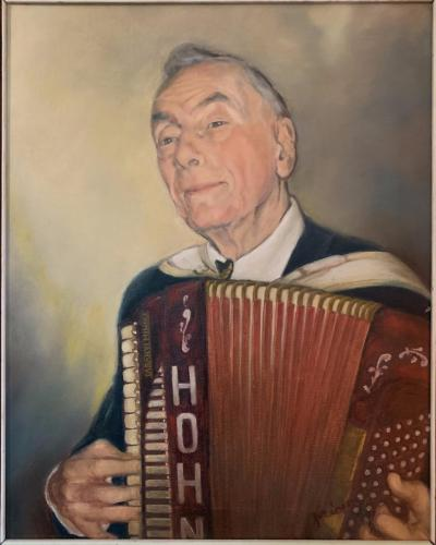 Festmény, Ménesi Etelka festőművész alkotása