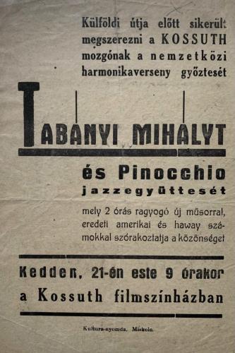 Kossuth Mozi 1957