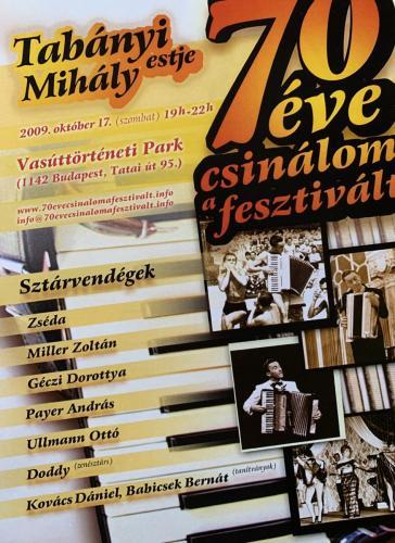 Tabányi est 2009