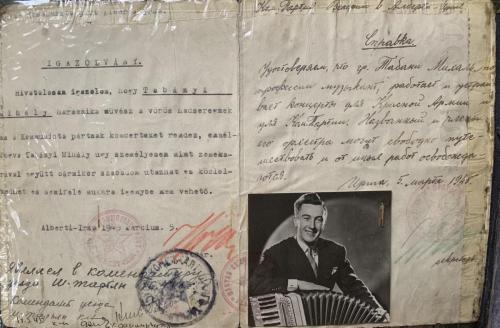 Engedély a Vörös Hadseregtől 1945