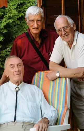 Starnfeld Aladárral ( Doddy) és Bartos Gyula zongoraművésszel
